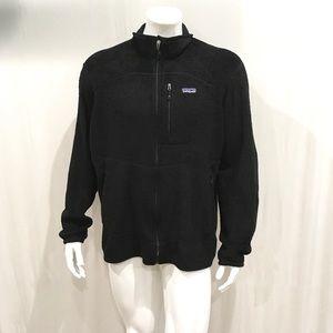 Patagonia Men's Black Oso Full Zip Sweater